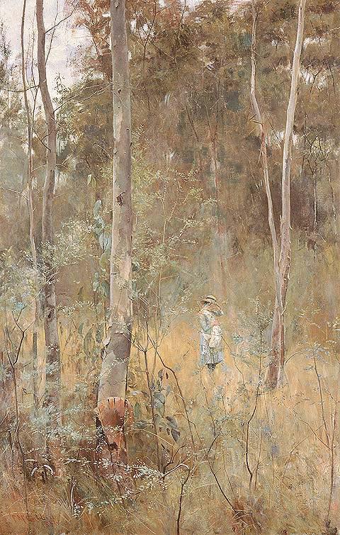 Lost child in Australian art