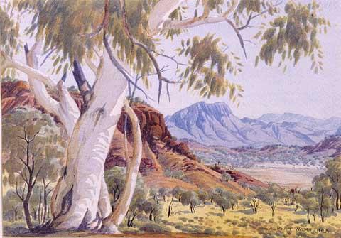 Famous Australian Landscape Paintings